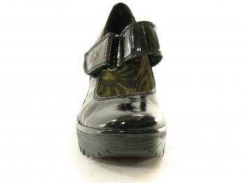 Fly Yag Black Ladies Footwear Shoe